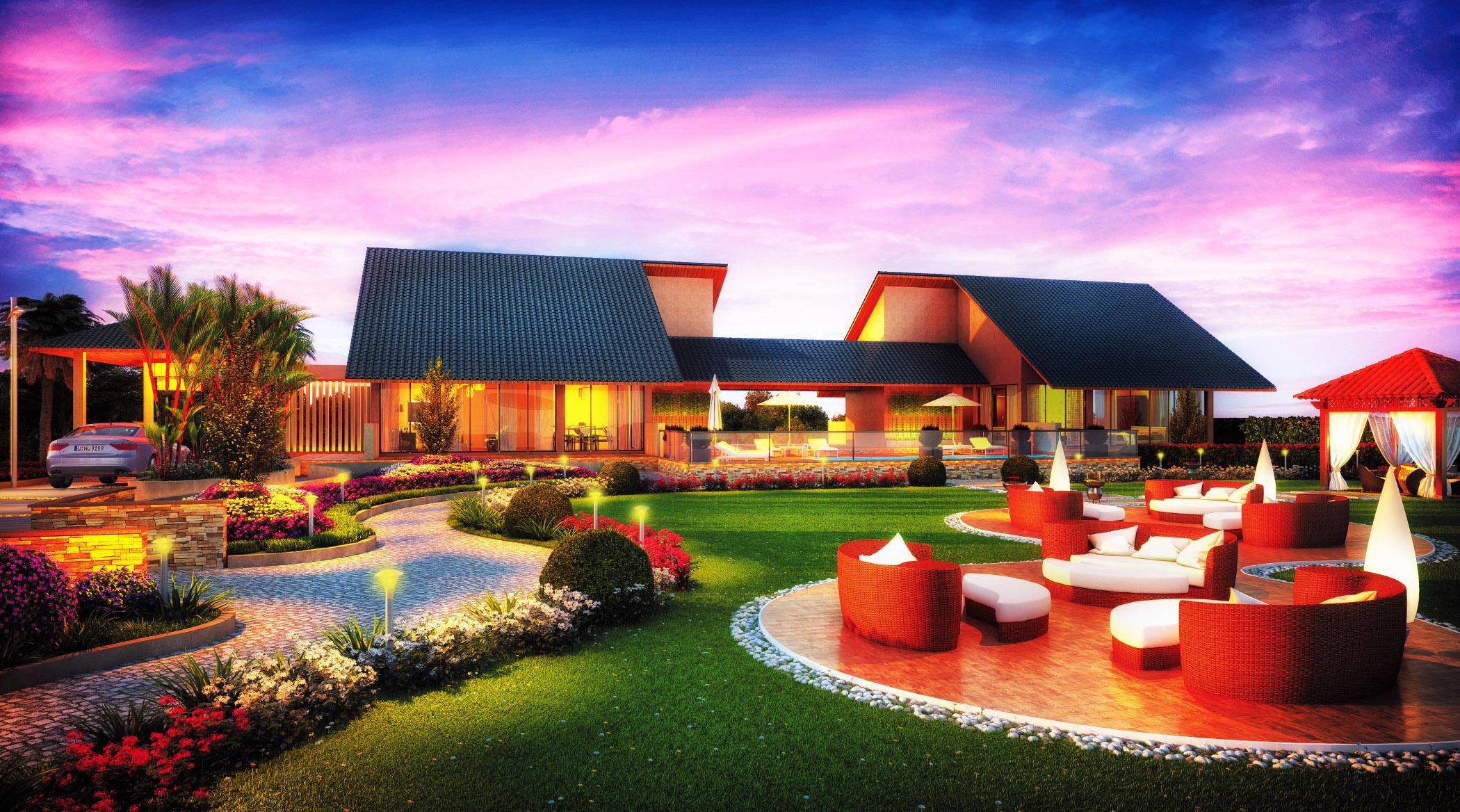 Canary Farms Buy Plots Villa In Lonavala